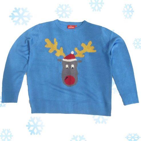 Reggie Reindeer Christmas Jumper (XXL)