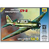 Zvezda 4805 Su-2 Soviet Light Bomber 1:48 Aircraft Model Kit