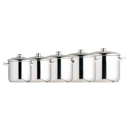 Master Class Stainless Steel Stockpot 22cm (7.0L)
