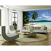 1Wall Giant Beach Scene Wall Mural