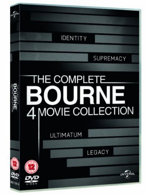 The Bourne Legacy - The Complete Collection - Quadrilogy (DVD Boxset)