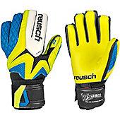 Reusch Waorani Pro G2 Bundesliga Ltd Goalkeeper Gloves - Yellow