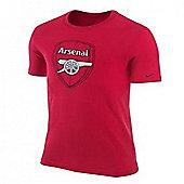 2012-13 Arsenal Nike Basic Core Tee (Red) - Red