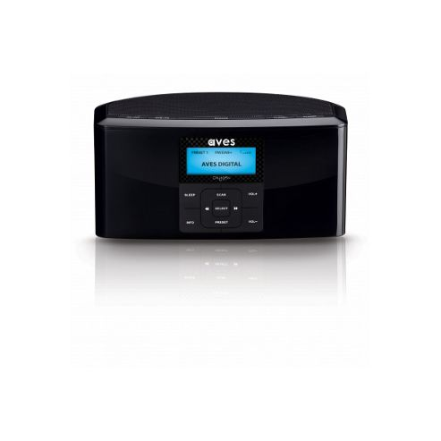 buy oxygen dual alarm clock dab radio with large lcd. Black Bedroom Furniture Sets. Home Design Ideas
