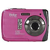 Vivitar VT426 Waterproof Camera, 12MP, 3m Waterproof, Pink