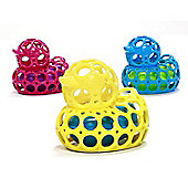 Oball O-Duckie Bath Toy BUNDLE -BLUE, YELLOW & PINK All 3 supplied