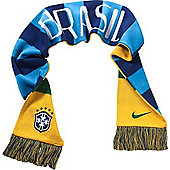 2014-15 Brazil Nike World Cup Supporters Scarf - Yellow