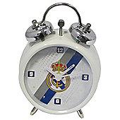 Real Madrid CF Stripe Mini Bell Alarm Clock