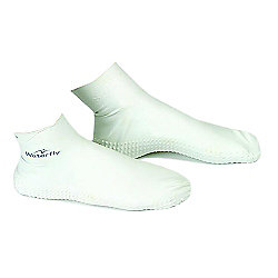 Waterfly Anti Verruca Latex Swimming Sock Size - L