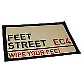 Feet Street Indoor Washable Mat