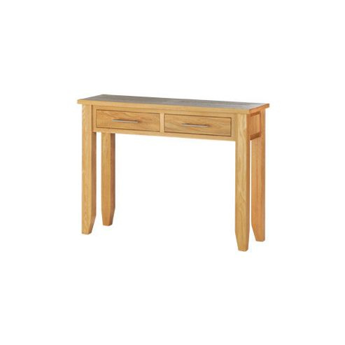 Thorndon Norfolk Dining Console Table in Natural Light Oak