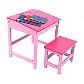 Premier Housewares Childrens Desk and Stool Set