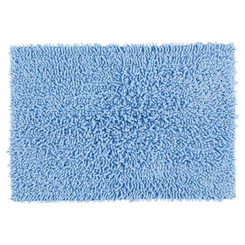 tesco chenille bath blue. Black Bedroom Furniture Sets. Home Design Ideas