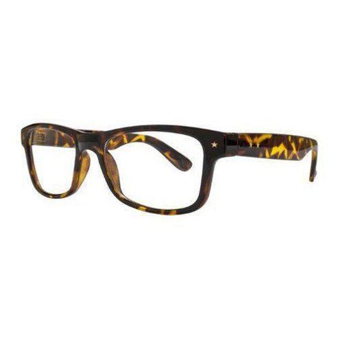 Glare Eyewear Star Detail Wayfarer Sunglasses Tortoiseshell
