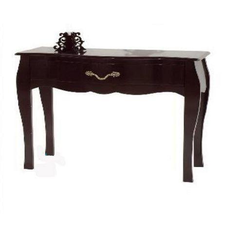 Altruna Murano Small Console Table - Black