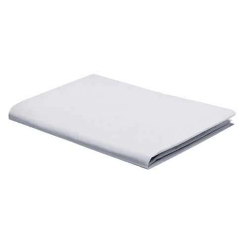 Tesco Fitted Sheet Double White
