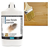 Polyvine Wax Finish Varnish- Dead Flat - 4 Litre