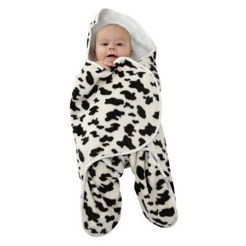 Tippitoes Star Wrap Swaddler (Cow Print)