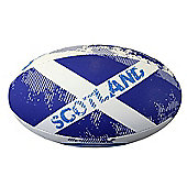 Optimum Nation Rugby Ball - Scotland RWC - White