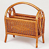 Hansen Rattan Newspaper Rack