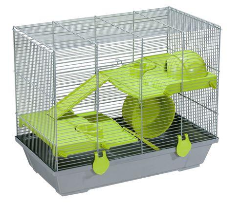 Voltrega Mia Mice Cage in Grey