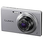 Panasonic Lumix FS50 Digital Camera, Silver, 16.1MP, 5x optical zoom, 2.7 inch LCD Screen