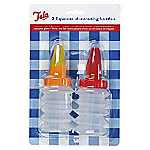 Tala Squeeze Decorating Icing Bottles 2 Pack