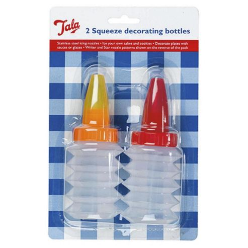 Cake Decorating Pens Tesco : Buy Tala Squeeze Decorating Icing Bottles 2 Pack from our Icing & Cake Decorating range - Tesco