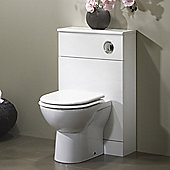 Tavistock Opal 79 x 50cm Back to Wall WC Unit - White