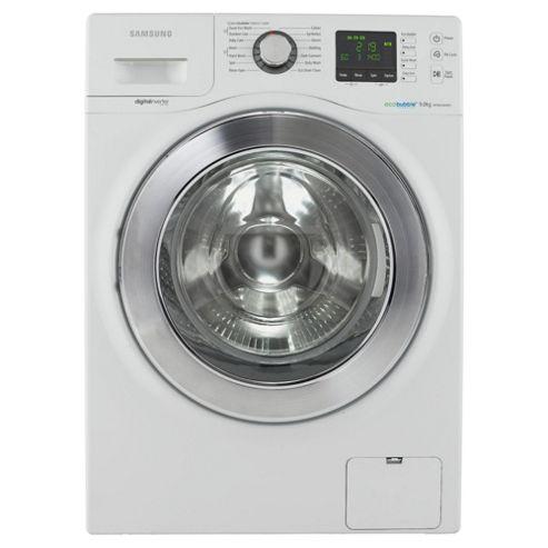 SamsungWF906U4SAWQ/EU Washing Machine, 9 kg Wash Load, 1400 rpm Spin