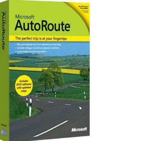 AutoRoute Euro 2011, x32, WIN, 1u, DVD, ENG