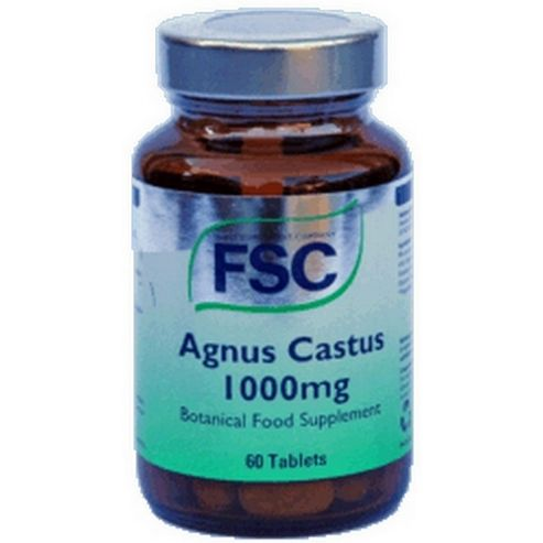 Fsc Agnus Castus 1000mg 60 Tablets