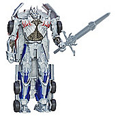Transformers Silver Knight Optimus Prime