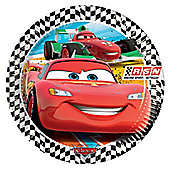 Disney Cars Plates - 23cm Paper Party Plates, Pack of 8