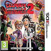 CLOUDY CHANCE OF MEATBALLS 2 (3DS)