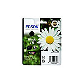 Epson Daisy 18 Series (T1801) Black Ink Cartridge RF/AM (Yield 175 Pages) - for XP-30 / XP-102 / XP-202 / XP-205 / XP-302 / XP-305 / XP-402 / XP-405