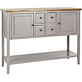 Safavieh Archer Sideboard - Grey with Weathered Oak Top