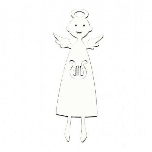 Harp angel white