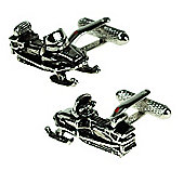 Snow Mobile Novelty Themed Cufflinks