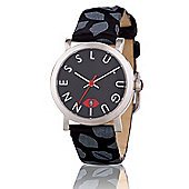 Lulu Guinness Glamour Lip Print Ladies Date Display Watch - LG20009S01X