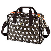 Caboodle Fun & Funky Changing Bag (Mink Stars)