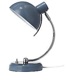 Tesco Arc Desk Lamp, Blue