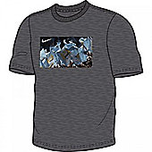 2013-14 Man City Nike Core Plus T-Shirt (Grey) - Grey