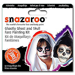 Amscan - Snazaroo Ghastly Ghost Face Paint Kit - 10 Faces