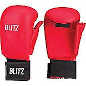 Blitz - PU Elite Glove With Thumb - Red