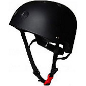 Kiddimoto Helmet - Matte Black - Medium