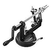 VonShef 3 in 1 Black Aluminium Apple Peeler Corer Slicer Cutter Machine