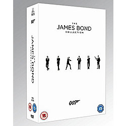 James Bond (23 titles) Blu-ray Collection
