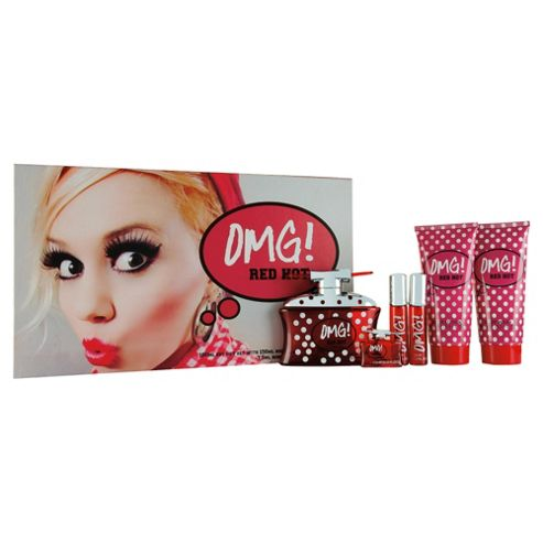 OMG! Red 100ml Eau de Toilette Gift Set