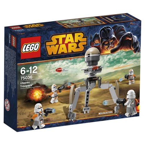 Exclusive: LEGO Star Wars Utapau Troopers 75036